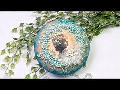 Decoupage bombka 3D z dziewczynką Tutorial DIY - YouTube