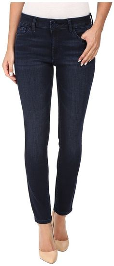 DL1961 Margaux Mid-Rise Ankle Skinny in Element