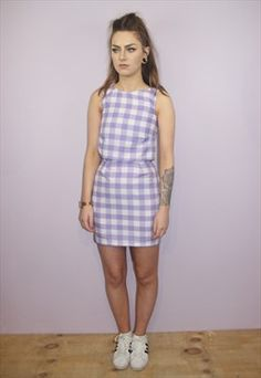 Tola Vintage Gingham two piece