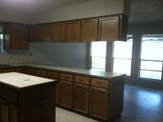 The rest of the space of the kitchen that will be getting redesigned!