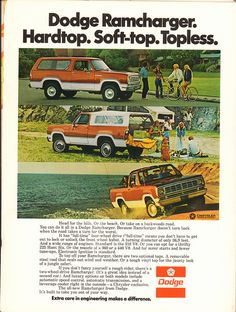 1975 Dodge Ramcharger Advertisement Motor Trend November 1974 | by SenseiAlan