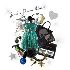 """""""Zombie Prom Queen"""" by chaoticclothing-101 on Polyvore"""
