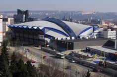 Steel Arena - multipurpose venue in Kosice Bratislava, Czech Republic, Prague, Roots, Steel, City, Building, Travel, Voyage