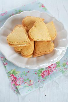 Custard Cream Hearts