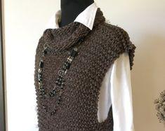 Resultado de imagen de knitting vest patterns