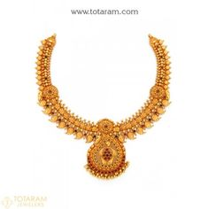 Indian Gold Jewellery Design, Gold Temple Jewellery, Gold Jewelry, Jewelry Necklaces, Jewelry Design, Bridal Jewelry, Jewelery, Antique Necklace