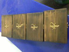 Groomsmen gift box's