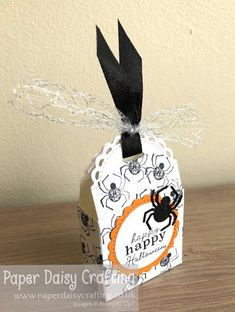 Paper Daisy Crafting: Stampin Dreams October Blog Hop - Halloween