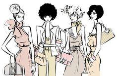 "Megan Hess ""Fashion Gals"""