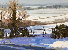 Across the fields  by Haidee-Jo Summer