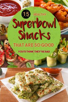 Game day food doesn't have to be unhealthy! Check out this list of 15 ultra healthy Superbowl snacks to bring to your party. Healthy Superbowl Snacks, Game Day Snacks, Healthy Filling Snacks, Game Day Food, Yummy Snacks, Yummy Food, Healthy Recipes, Super Bowl Party, Sweet Potato Skins