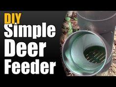 ▶ DIY Simple Deer Feeder - YouTube