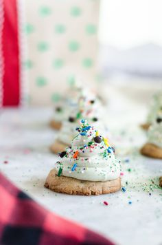 Marshmallow Tree Cookies