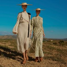 Amalie & Cecilie Moosgaard Go 'Sublime Pastoral' By Kai Z Feng For Elle UK March 2017 — Anne of Carversville  http://www.anneofcarversville.com/style-photos/2017/2/18/amalie-cecilie-moosgaard-go-sublime-pastoral-by-kai-z-feng-for-elle-uk-march-2017