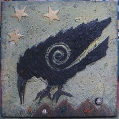 Raven II by bear paw artwork