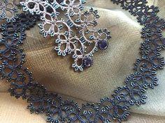 Lorina frivolite' jewellery. info@leoro.co.uk - www.leoro.co.uk