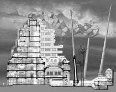 Galeria - Arte e Arquitetura: desenhos arquitetônicos que evidenciam o espaço do Eixo Z - 12