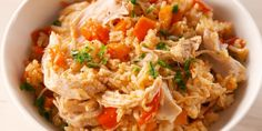 cooking tips - Break Out Your Instant Pot for These Easy Chicken Recipes Instant Pot Chicken And Rice Recipe, Instant Pot Dinner Recipes, Easy Chicken Recipes, Rice Recipes, Crockpot Recipes, Cooking Recipes, Healthy Recipes, Chicken Rice, Chicken Meals