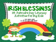 Irish Blessings *St. Patrick's Day Themed Literacy Activities