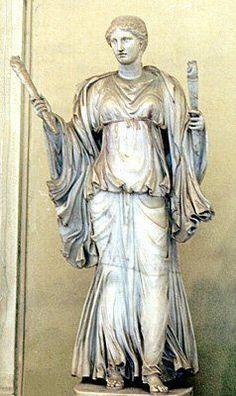 Escultura de Vesta Museo del Vaticano, Roma.  Jorge A. Rizo