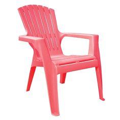 Adams Kids' Stacking Adirondack Chair in Honeysuckle - Ace Hardware   $12