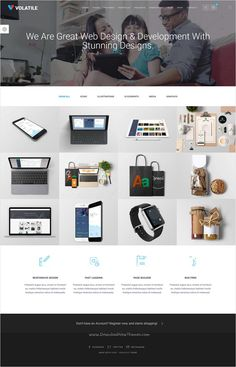 Scala | Multi-Purpose Onepage - Multipage Template | Modern ...