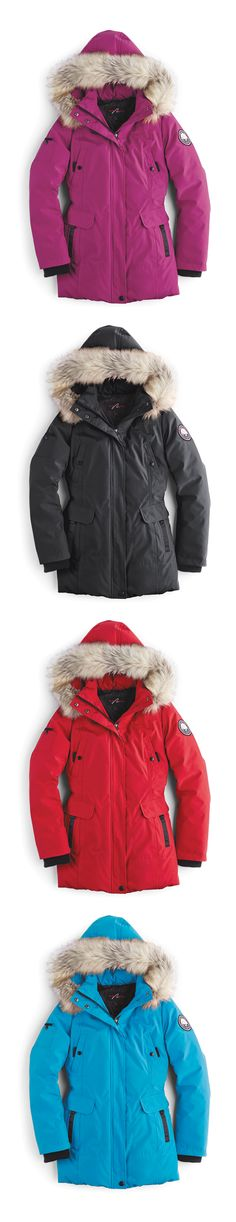 Cozy and colourful - it's Canada's Best Parka! Best Parka, Family Wishes, Canada Shopping, Online Furniture, Wonderland, Trust, Winter Jackets, Cozy, Fashion Outfits