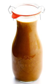This Thai Peanut Dressing recipe is quick and easy to make, it can be used in all sorts of dishes, and it tastes downright irresistible!