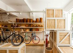 Monochrome Bikes store by Nidolab Buenos Aires 06