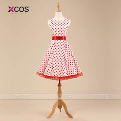 Cheap dress daughter, Buy Quality dress elephant directly from China dress up pageant girls Suppliers: 4 Designs Plus Size Rockabilly Vintage Dresses Short Prom Gown Floral Print Party Swing Polka Dots Pinup Dress Prom Dresses 2016, Pin Up Dresses, 50s Dresses, Cheap Dresses, Vintage Dresses, Short Dresses, Fashion Dresses, Dress Up, Formal Dresses