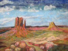 Monument Valley Fiber Art | Flickr - Photo Sharing!