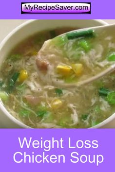 Oil Free Skinny Recipe - Weight Loss Diet Soup -Immunity Boosting. #soup #weighloss