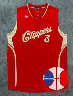 9d42936982a9a maillot basket nba 15-16 Xmas Los Angeles Clippers Paul  3 Rouge nouveaux  tissu €24.90