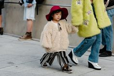The Stylish Kids of Seoul Fashion Week Are the Cutest Thing Ever via @WhoWhatWear