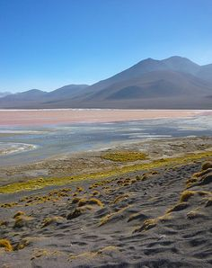 In the middle of the bolivian desert