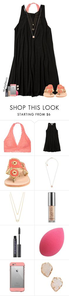 """""""It's so cold!! """" by haleyfrancis ❤ liked on Polyvore featuring Victoria's Secret, Abercrombie & Fitch, Jack Rogers, Michael Kors, Gorjana, Urban Decay, LifeProof and Kendra Scott"""