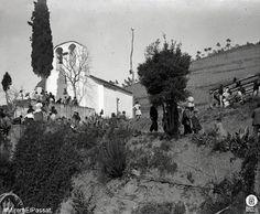 Any 1913 a l'aplec a l'ermita de Sant Medir al Parc Natural de la Serra de Collserola. Foto: Antoni Gallardo Garriga. Diputació de Barcelona + imatges flickr.com/arxiuspal / diba.cat/spal