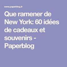 1ae3f1c30554 Que ramener de New York  60 idées de cadeaux et souvenirs