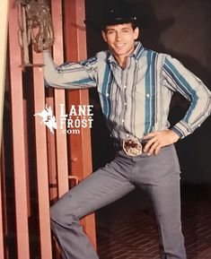 Rodeo Cowboys, Hot Cowboys, Real Cowboys, Lane Frost Quotes, July In Cheyenne, Professional Bull Riders, Hot Country Boys, Luke Perry, Bull Riding