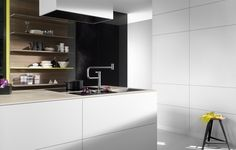 Pivot is a new kitchen faucet by Sieger Design created for Dornbracht Kitchen And Bath, New Kitchen, Kitchen Reno, Kitchen Interior, Interior Design Living Room, Kitchen Layout, Kitchen Design, Modern Kitchen Island, Kitchen Islands