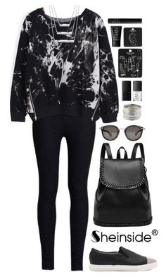 """""""SheIn 8"""" by scarlett-morwenna ❤ liked on Polyvore featuring Rodarte, Moncler, NARS Cosmetics and Topshop"""