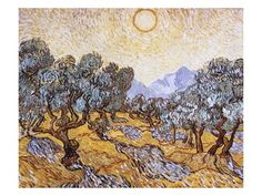 The Olive Trees Giclee Print