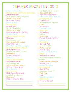 My Most Popular Summer Holiday Bucket List EVER – 76 Summer Activities for Kids #summer #kids #kidsactivities #family #parenting