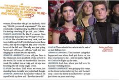 View scans from EW's new 'Catching Fire' issue ft. interviews w/ Jen, Josh & Sam http://sulia.com/channel/the-hunger-games/f/6ebd5696-f016-4870-badf-c4ad4ff4600d/?pinner=39289531&