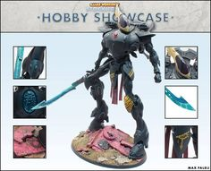 Incredible Wraithknight painted by the very talented Max from Games Workshop Stockholm.