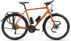 The 2020 KOGA WorldTraveller S features a new weld technology, new sizing, new drivetrain options, new paint options colours!) and a new price. Touring Bicycles, Touring Bike, Bicycle Drawing, Mountain Bike Frames, Recumbent Bicycle, Bicycle Workout, Online Bike, Electric Bicycle, Cycling Bikes