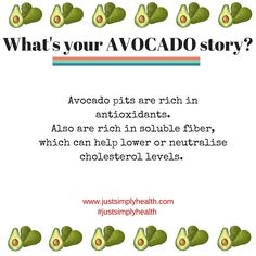 What's your ‪#‎avocado‬ story? Share with us.  ‪#‎justsimplyhealth‬ #naturaltherapy #naturaltherapies