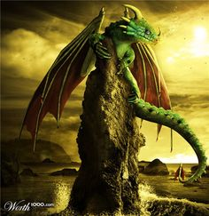 """In Jewish religious texts, the first mention of a dragon-like creature is in the Biblical works of Job (26:13), and Isaiah (27:1) where it is called Nachash Bare'ach, or a """"Pole Serpent"""".[12] This is identified in the Midrash Rabba to Genesis 1:21 as Leviathan from the word Taninim (תנינים) """"and God created the great sea-monsters.""""[13] In modern Hebrew the word Taninim is used for Crocodiles but this is a 20th-century usage unconnected with the original Biblical meaning."""