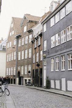Coblestone Street in Copenhagen Denmark #denmark #copenhagen #copenhagenstreet #copenhagenphotography