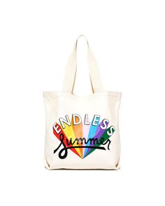 canvas tote - endless summer from ban.do